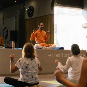 Guru ji Siddhartha teaching