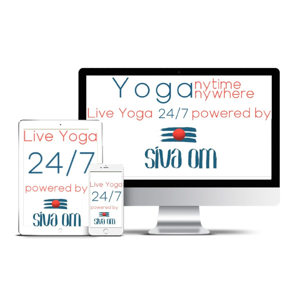 live online yoga sivaom 24x7