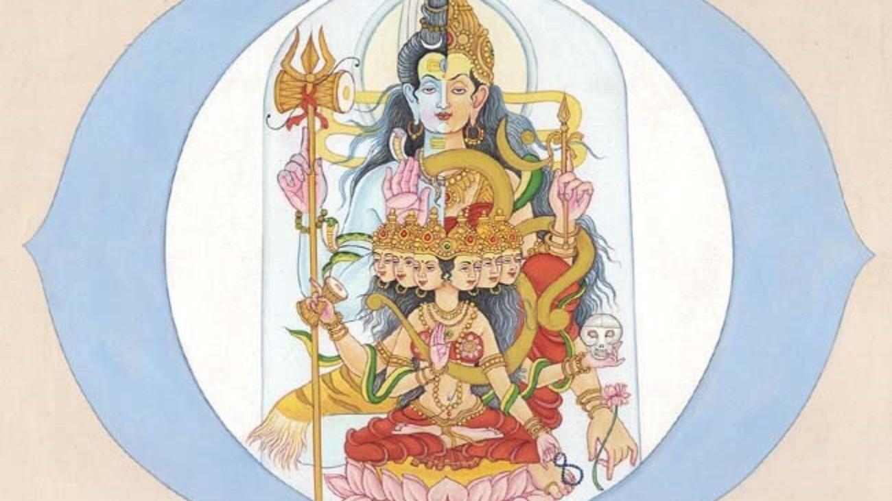 third eye chakra shiv shakti www.sivaom.com