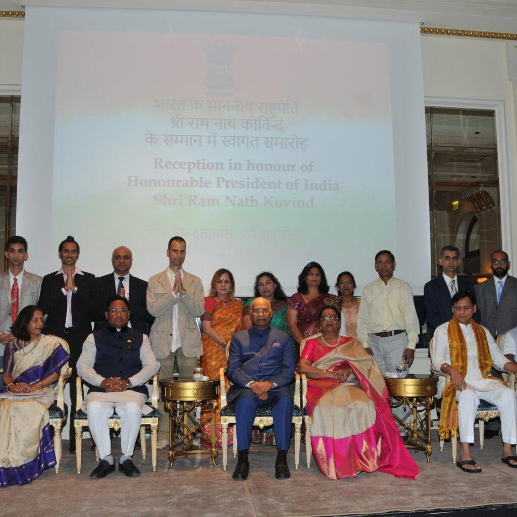 sivaom yoga with indian presidnet ram nath kovind