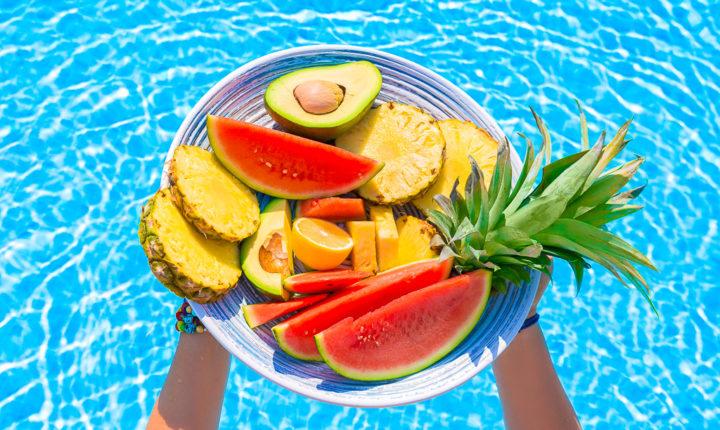 vegan fruits Green and healthy organic food sivaom yoga